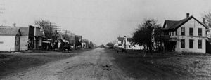 Derby Kansas Main Street Looking North, early 1900s