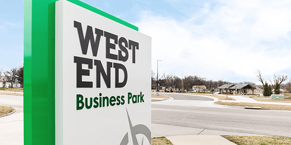 West End Business Park Sign