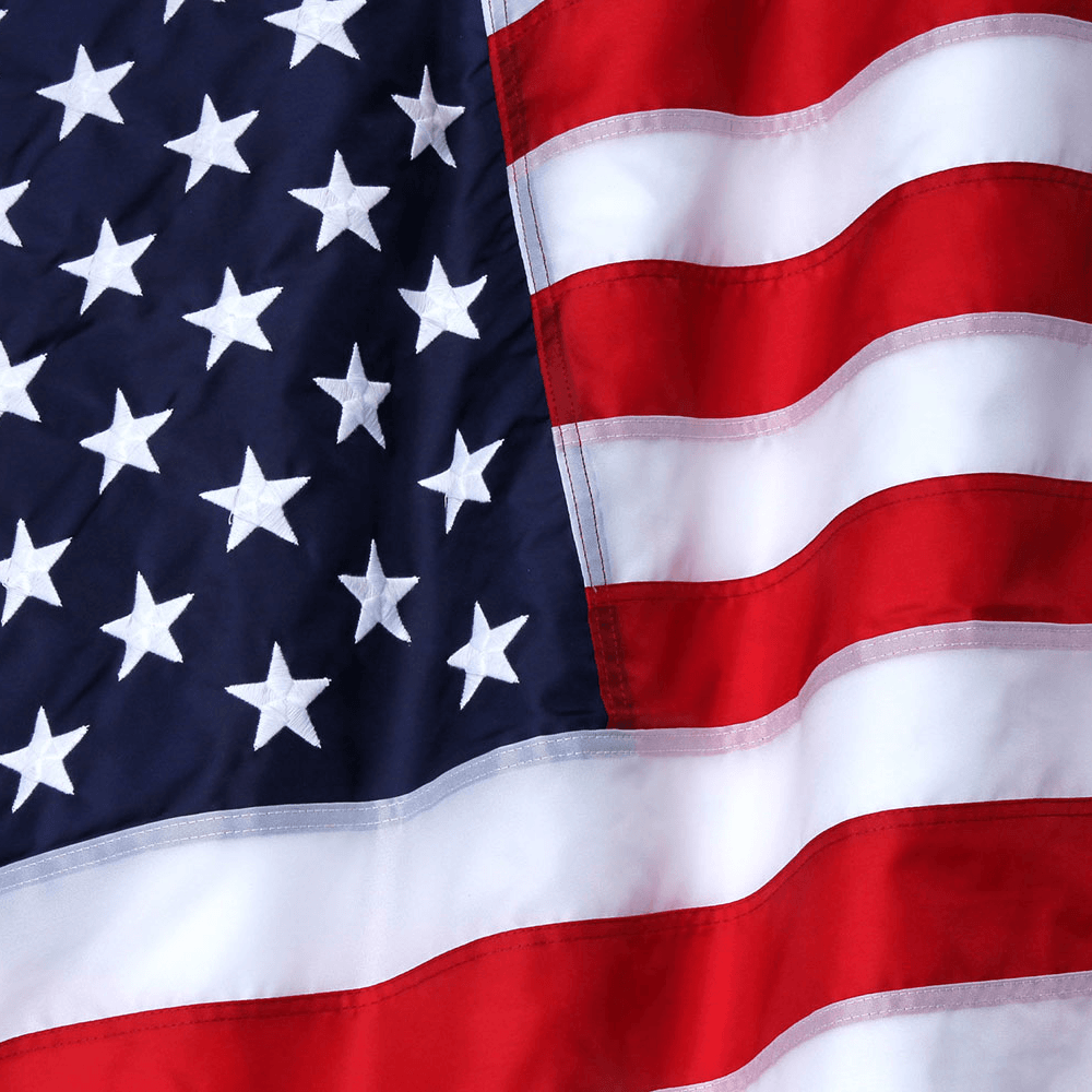 Nylon-American-Flag-closeup
