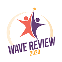 2020 Wave Review logo