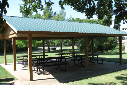 Duck Creek Park shelter