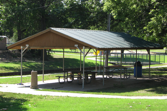 English Park small shelter