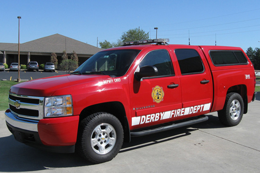 Deputy Fire Chief Truck